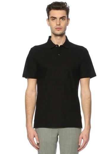 Corneliani Polo Yaka Tişört Siyah